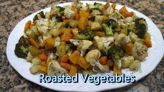 Italian Grandma Makes Roasted Vegetables
