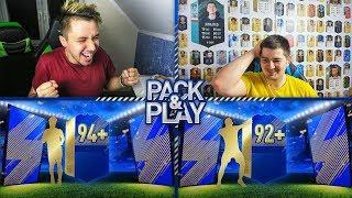 DWA POTĘŻNE TOTSY ULTIMATE W PACK & PLAY! vs. JUNAJTED # FIFA 18