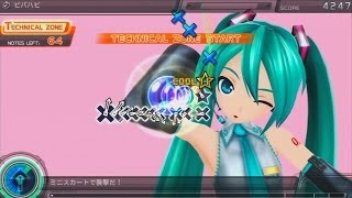【Project Diva F ENGLISH】【9★】 Viva Happy PV+Notes Edit