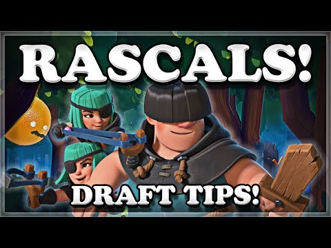 Rascal Challenge 12 Win Tips & Gameplay Clash Royale 🍊
