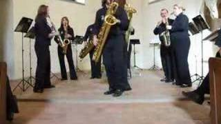 Crazy Rag – SAX FAMILY – National Saxophone Choir