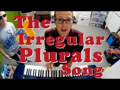 The Irregular Plurals Song