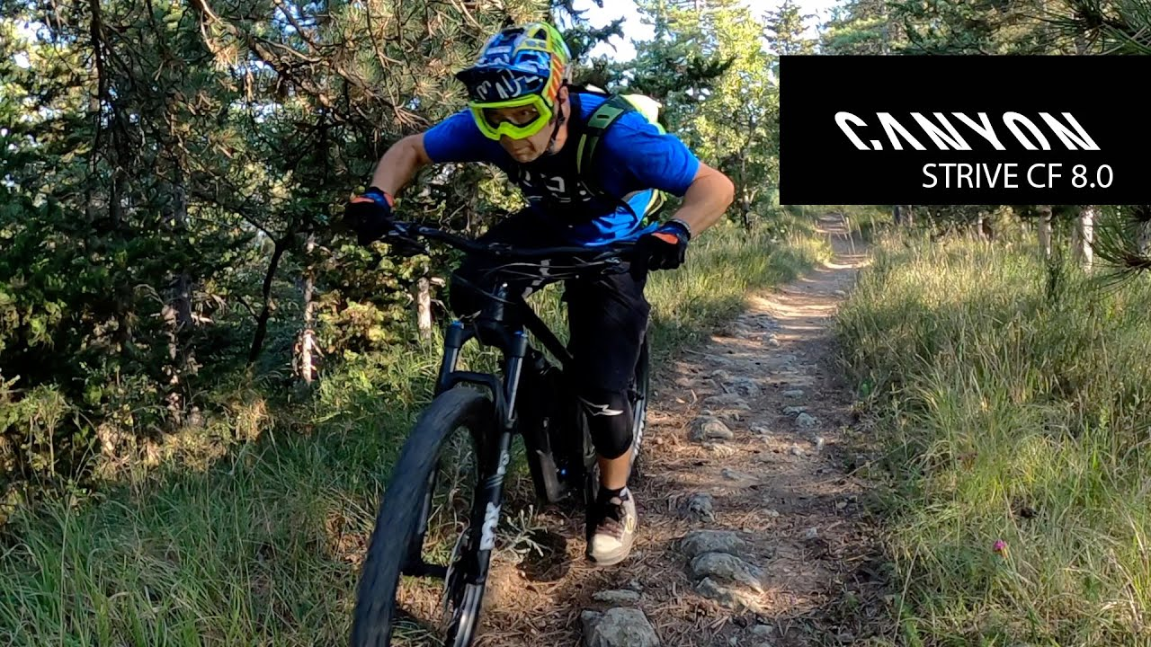 CANYON STRIVE CF 8.0 TEST E RECENSIONE