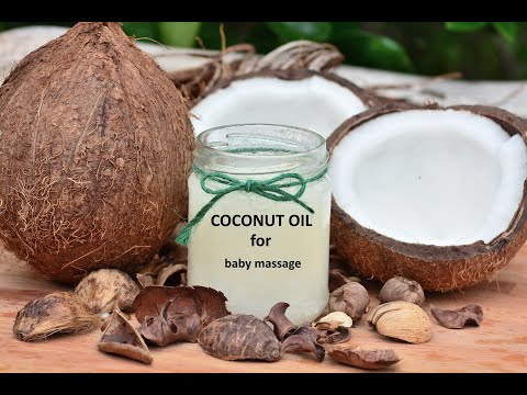 OIL MASSAGE  FOR BABY | COCONUT OIL