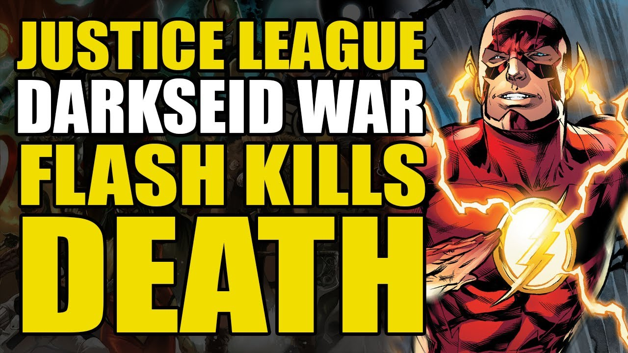 Download Justice League Darkseid War Act 2: Flash Kills Death   Comics Explained