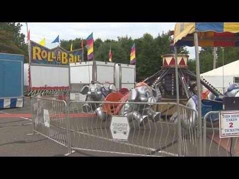 Amusement park company sets up rides after accident