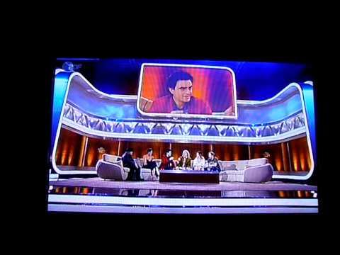 Rolando Villazón on ZDF Wetten Dass...? Part II