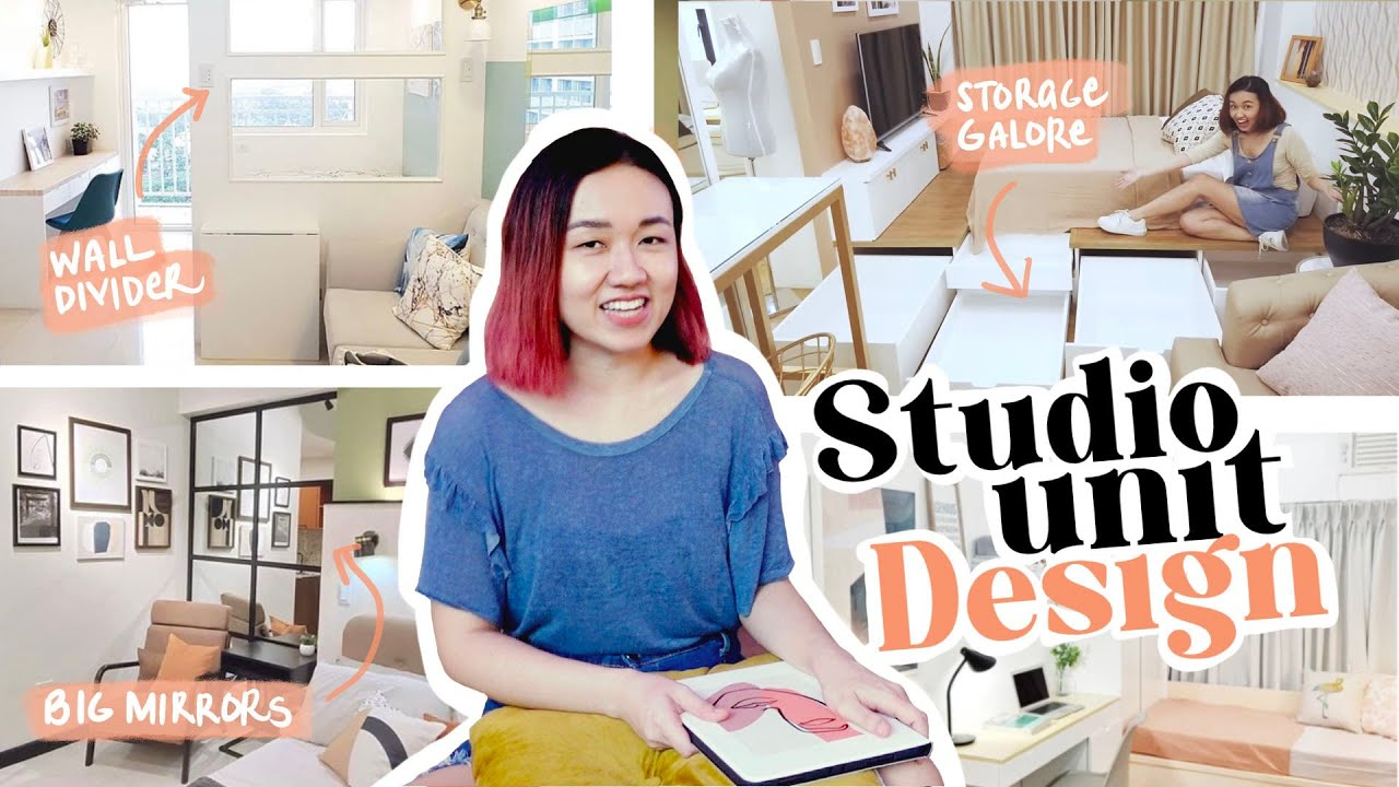 Decorator's TOP 7 Tips for Studio Units ⭐️ // Small Space Design // by Elle Uy