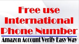 How to get and use USA or any other country phone number free bangla tutorial