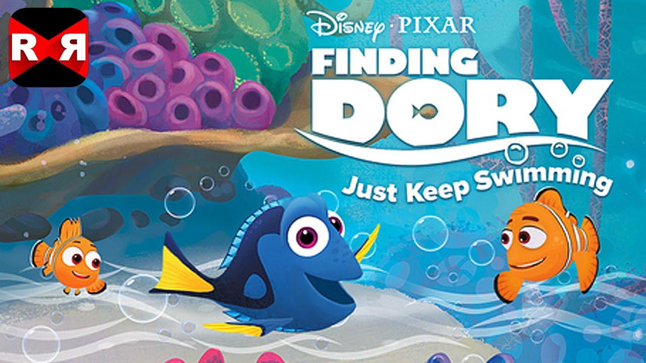 Disney Pixar Finding Dory Just Keep Swimming