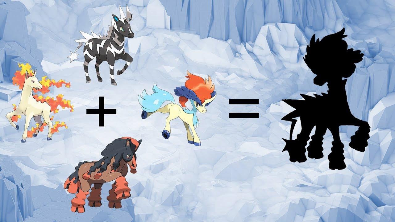 Pokemon Fusion Requests 96 Zebstrika Rapidash