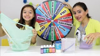 DESAFIO DA ROLETA MISTERIOSA DE SLIME!! Mystery Wheel Of Slime Challenge!! thumbnail