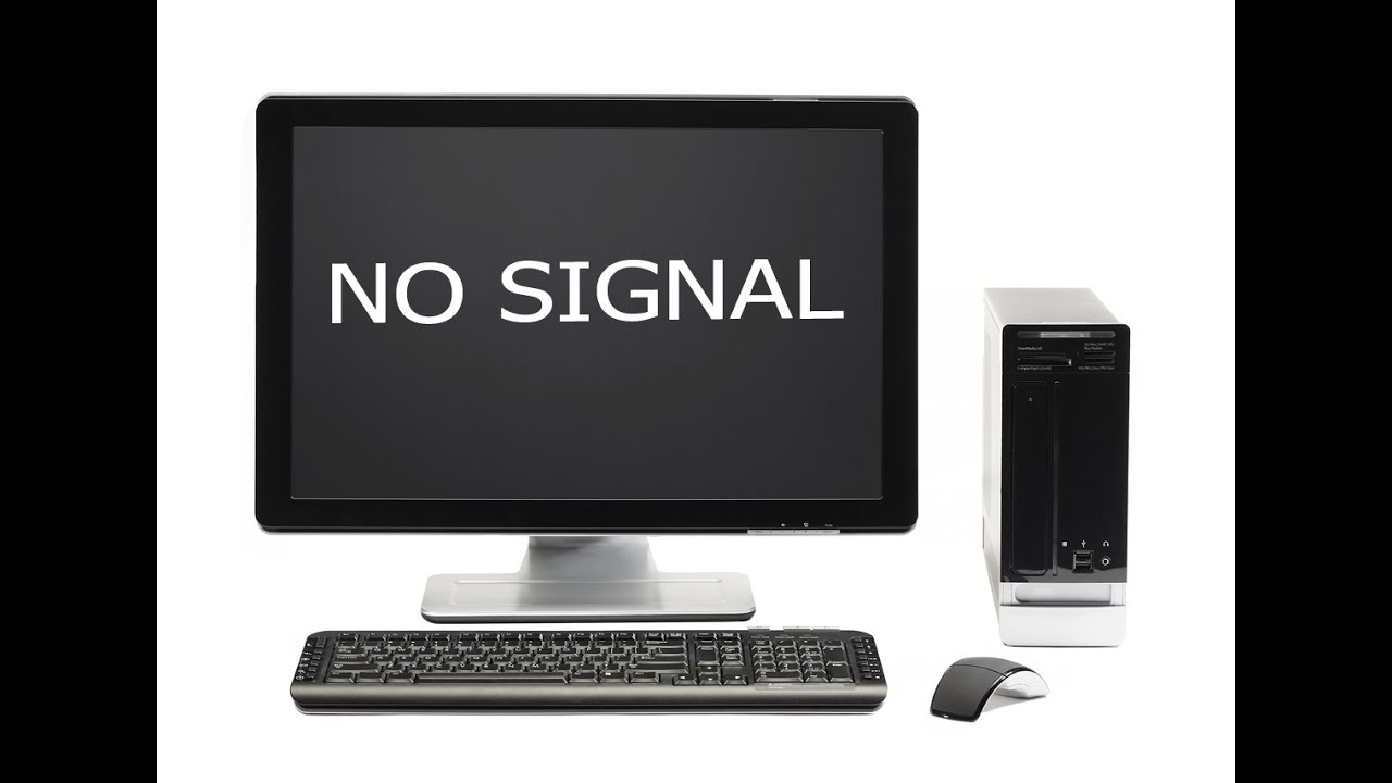 How to solve no signal problem showing in monitor(HD)