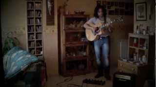 Stand by me song ( cover - acoustic guitar cover ) - Ben E. King / John Lennon