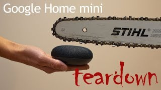 Google Home mini teardown
