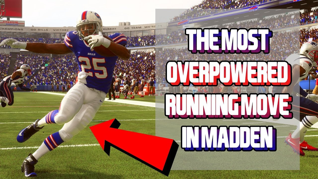 THE BEST RUNNING MOVE IN MADDEN 19!!! GLITCHY STICK WORK TUTORIAL