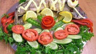 Фаршированная щука - видео рецепт(Видео рецепт приготовления вкусной фаршированной щуки в многофункциональной посуде Цептер (Zepter). Блюдо..., 2010-09-27T06:19:46.000Z)