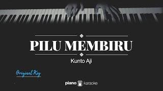 Pilu Membiru (ORIGINAL KEY) Kunto Aji (KARAOKE PIANO)