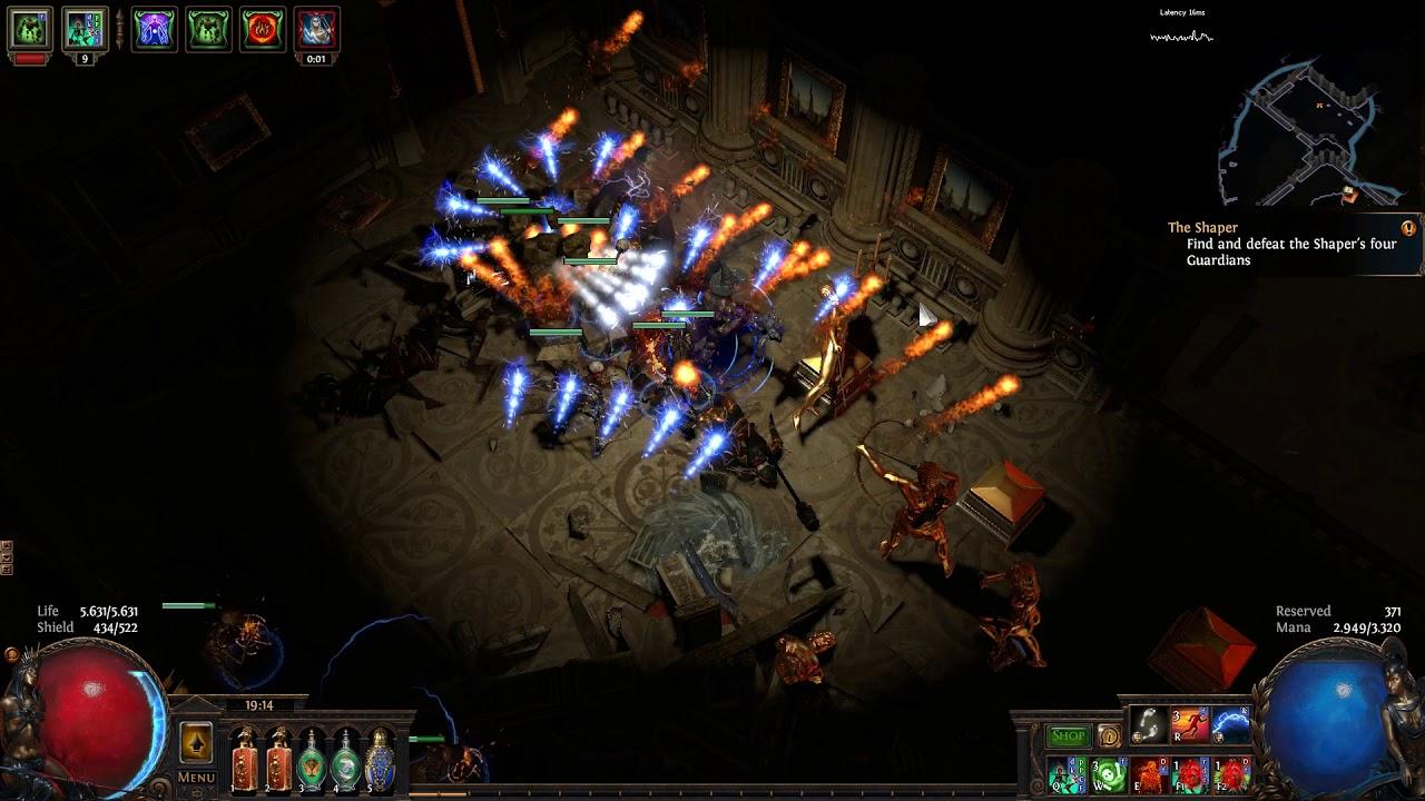 Witch build - Dead Reckoning Skeleton Mage Necromancer UPDATED FOR