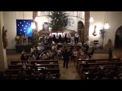 A Christmas Trilogy (Elliott del Borgo) - Musikverein Niederwürzbach 1956 - Schülerorchester + GO