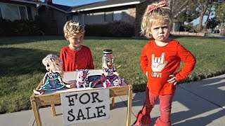 We CAUGHT Tydus SELLING his sister's stuff! *BIG TROUBLE*