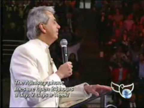"""Benny Hinn sings """"There's Something About That Name"""""""