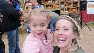 VLOG:: Adventuring to Mapleside Farms + family fall traditions