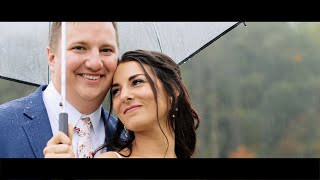 A Wet Knot is Harder to Untie  ||  Megan + Ian's Country Club of Asheville Wedding