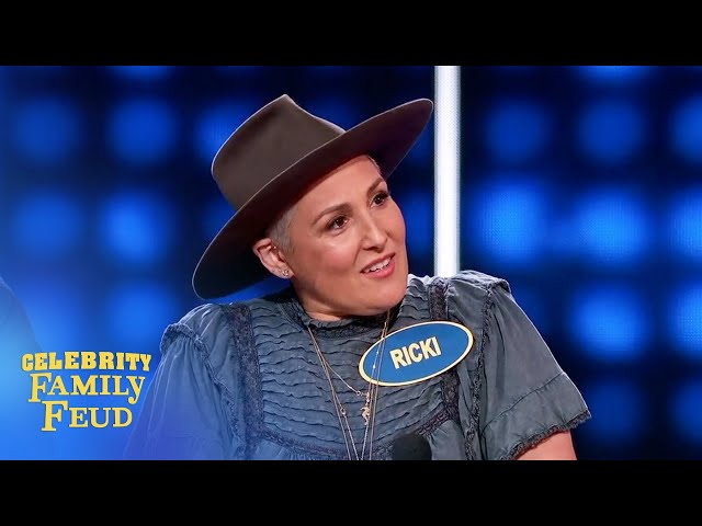 Ricki Lake says size matters! | Celebrity Family Feud