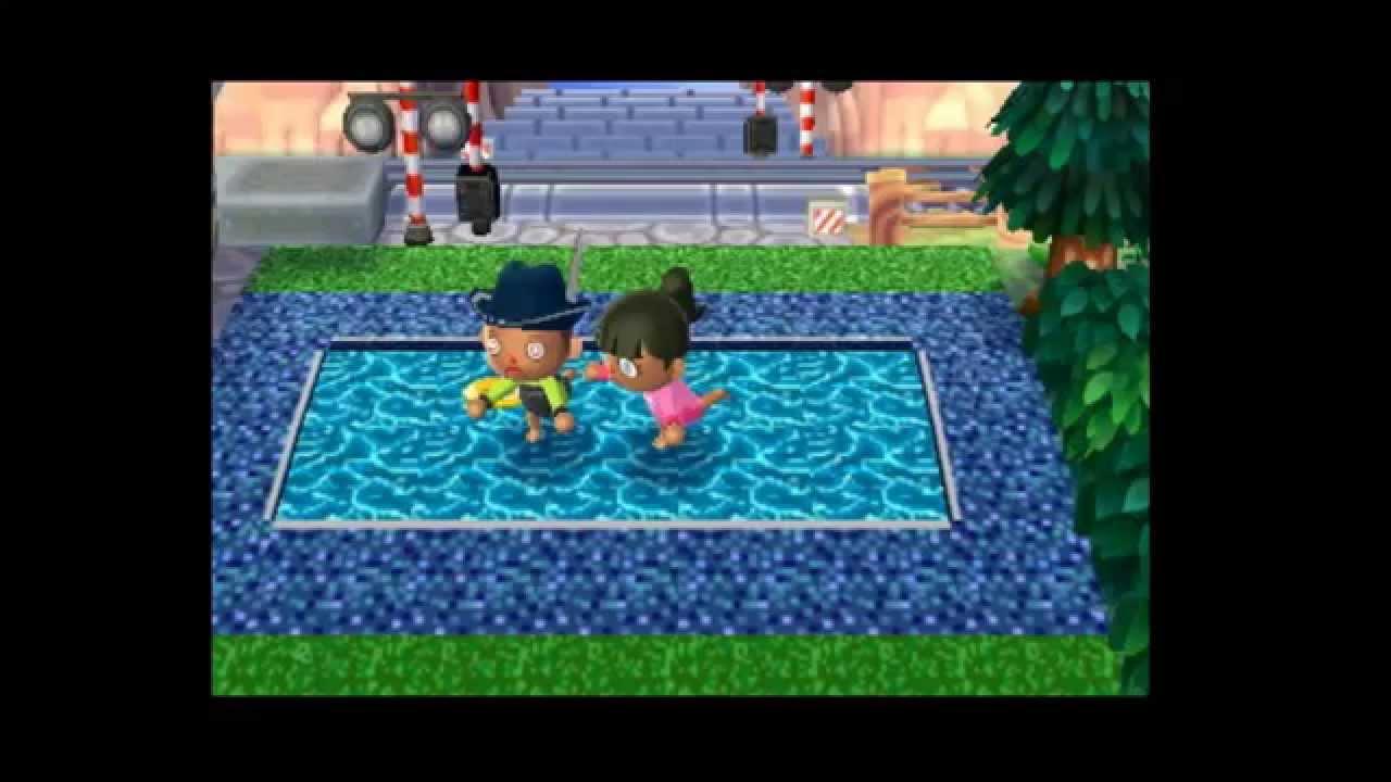 qrs acnl 16 piscina mayte ac - youtube