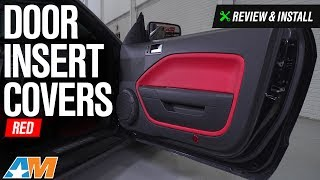 2005-2009 Mustang Door Insert Covers Review & Install