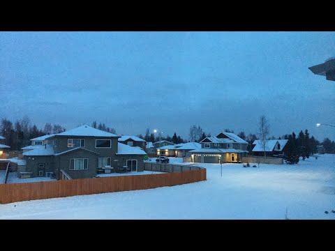 Livestream 😀 - More Snow - Anchorage Alaska - November 9th 2017