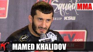Mamed Khalidov o testach antydopingowych przed walką z Drwalem.