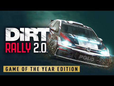 The complete off-road experience - DiRT Rally 2.0 Game of the Year Edition