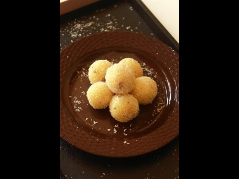 coconut ladoo recipe, how to make nariyal ladoo |coconut laddu