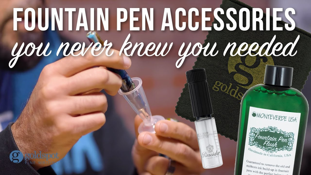 Download Fountain Pen Accessories You Never Knew You Needed