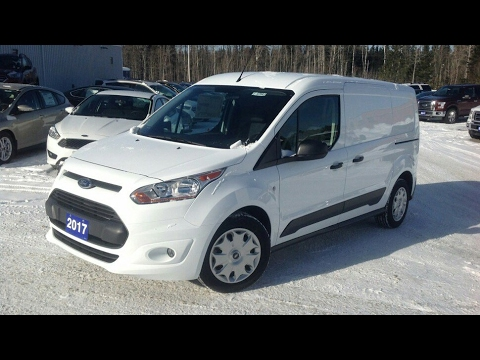 2017 Ford Transit Connect XLT LWB Van Start Up, Full Tour and Review