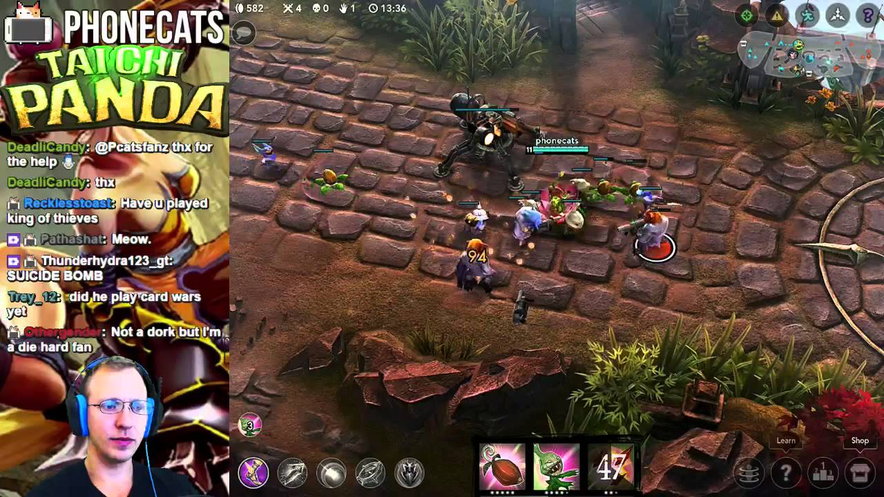 VainGlory - Playing Petal in 3v3 MOBA