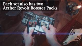 Magic: The Gathering - Discover the Aether Revolt Planeswalker Decks