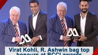 Virat Kohli, R. Ashwin bag top honours at BCCI awards - ANI #News