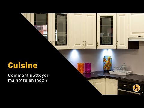 nettoyer ma hotte en inox youtube. Black Bedroom Furniture Sets. Home Design Ideas