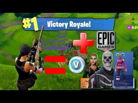 REAL! How To Connect Your Twitch Account To Epic Account For Free Loot On Fortnite Battle Royale!