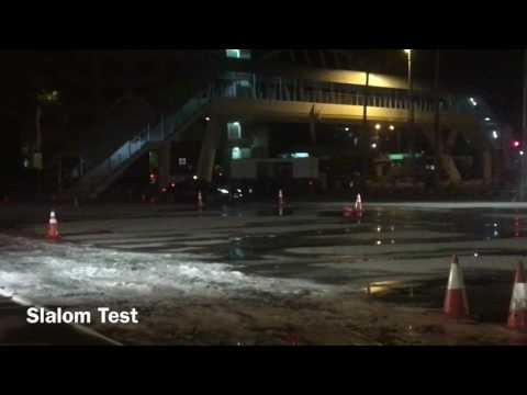 The art of performance tour - Slalom Test - Jaguar Brunei