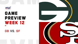 Green Bay Packers vs San Francisco 49ers Week 12 NFL Game Preview