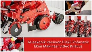 İrtem Video Kılavuz: Teleskobik Versiyon Diskli Pnömatik Ekim Makinası