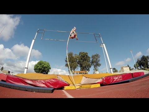 Rachel Baxter Workout Wednesday Pole Vault Training