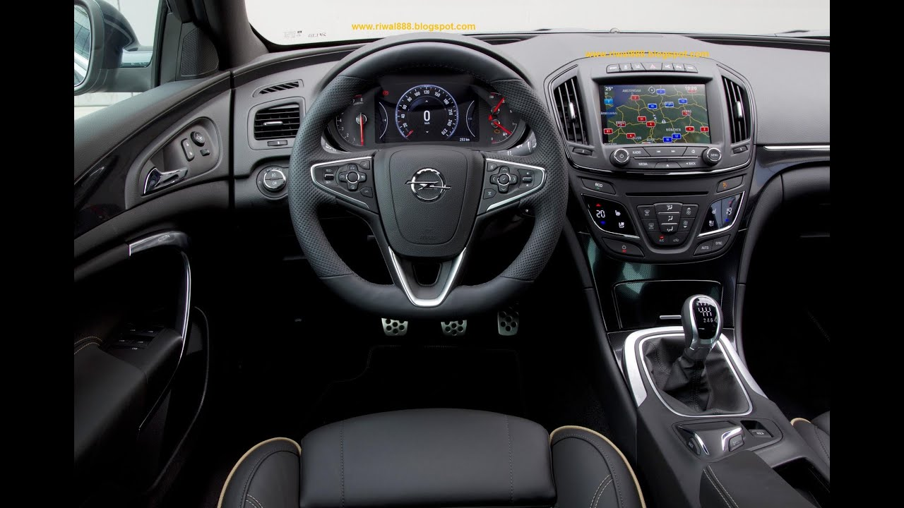 NEW! Opel Insignia MY 2014 - Interior Design & Infotainment ...