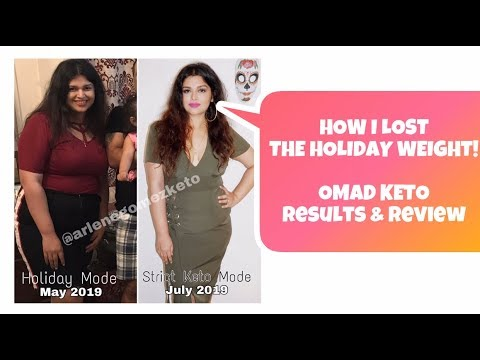 how-to-lose-holiday-weight-fast---keto-omad-review-&-results::-arlene-gomez-keto