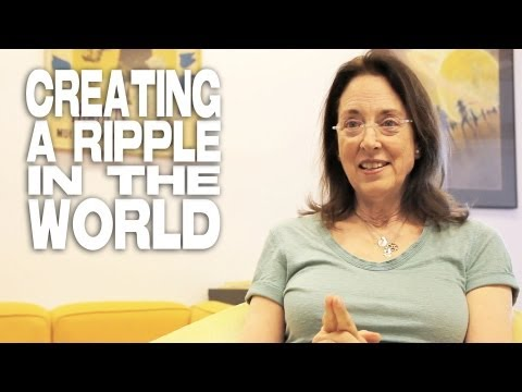 Creating A Ripple In The World by Julie Corman