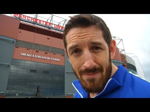 King Barrett hunts for Wayne Rooney at Old Trafford